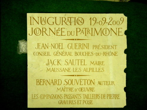 Pierre d'Inauguration